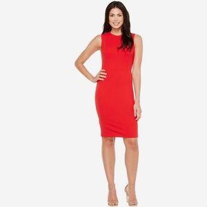 Calvin Klein Side Button Sheath Dress